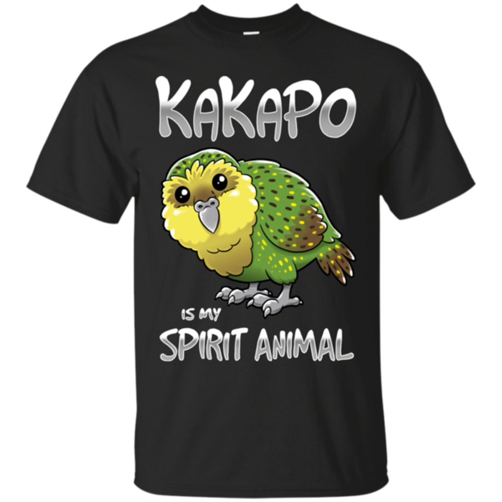 Pop-Up Tee: Kakapo Spirit Animal