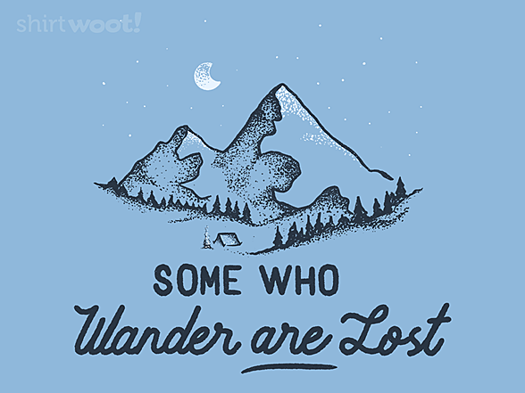 Woot!: Some Who Wander Are Lost