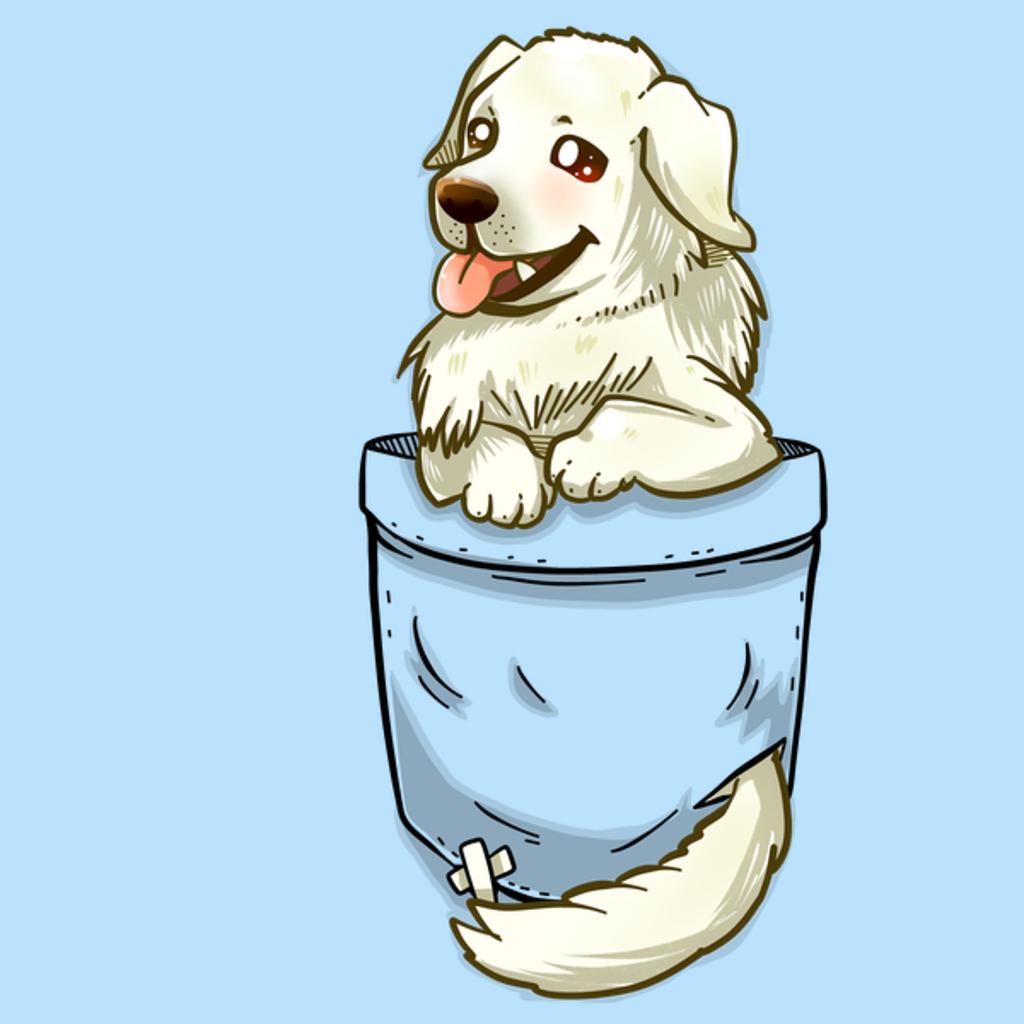 NeatoShop: Pocket Great Pyrenees Dog