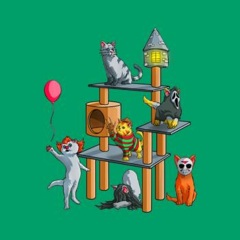 BustedTees: Cat Horror Movies