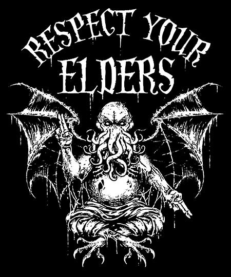 Qwertee: Respect Your Elders