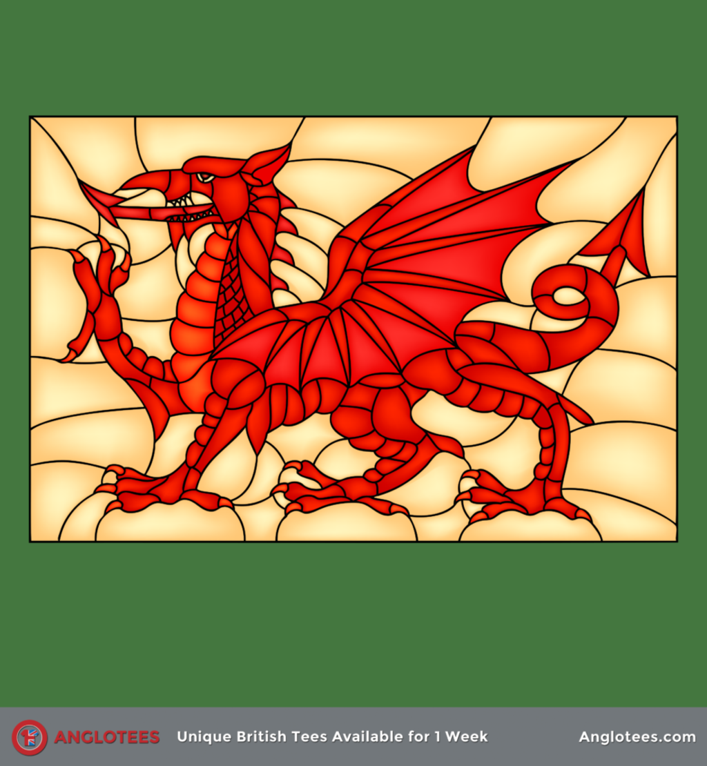 Anglotees: The Welsh Dragon