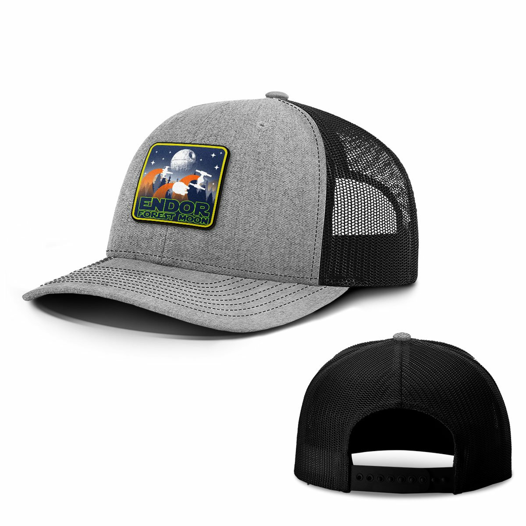 BustedTees: Endor Forest Moon Patch Hats