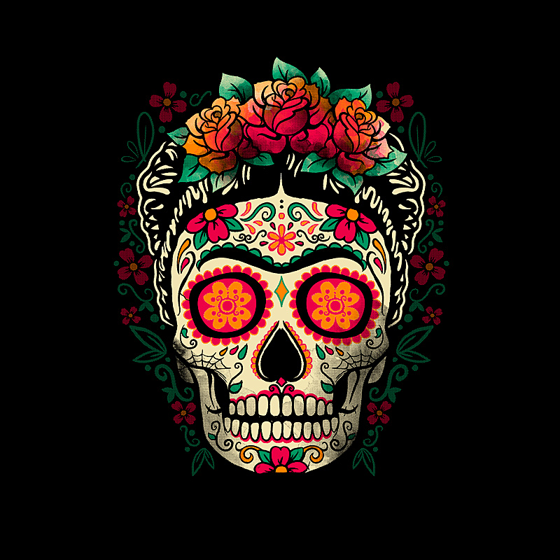 Pampling: Frida Calavera