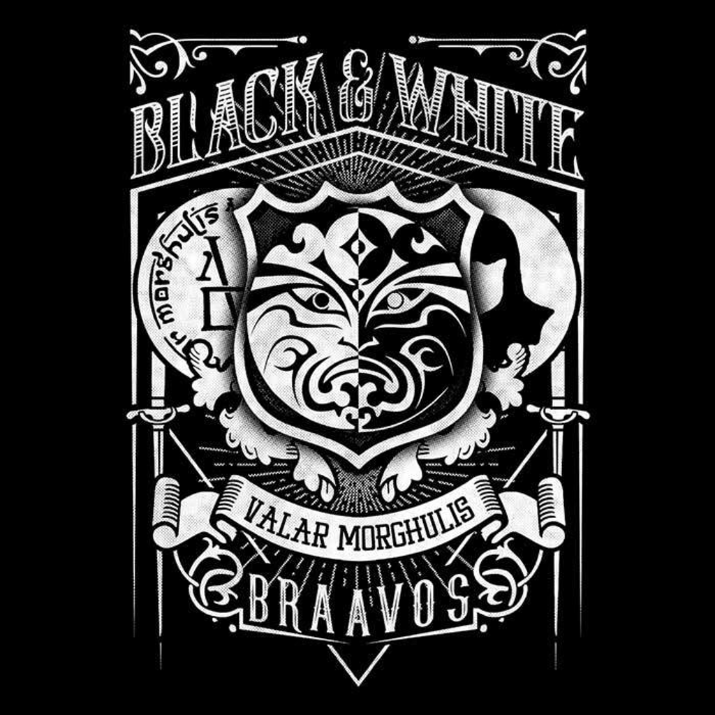 Once Upon a Tee: Vintage Black and White