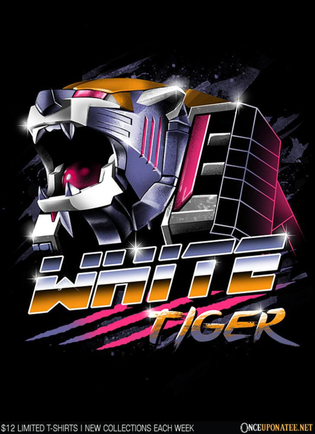 Once Upon a Tee: White Tiger