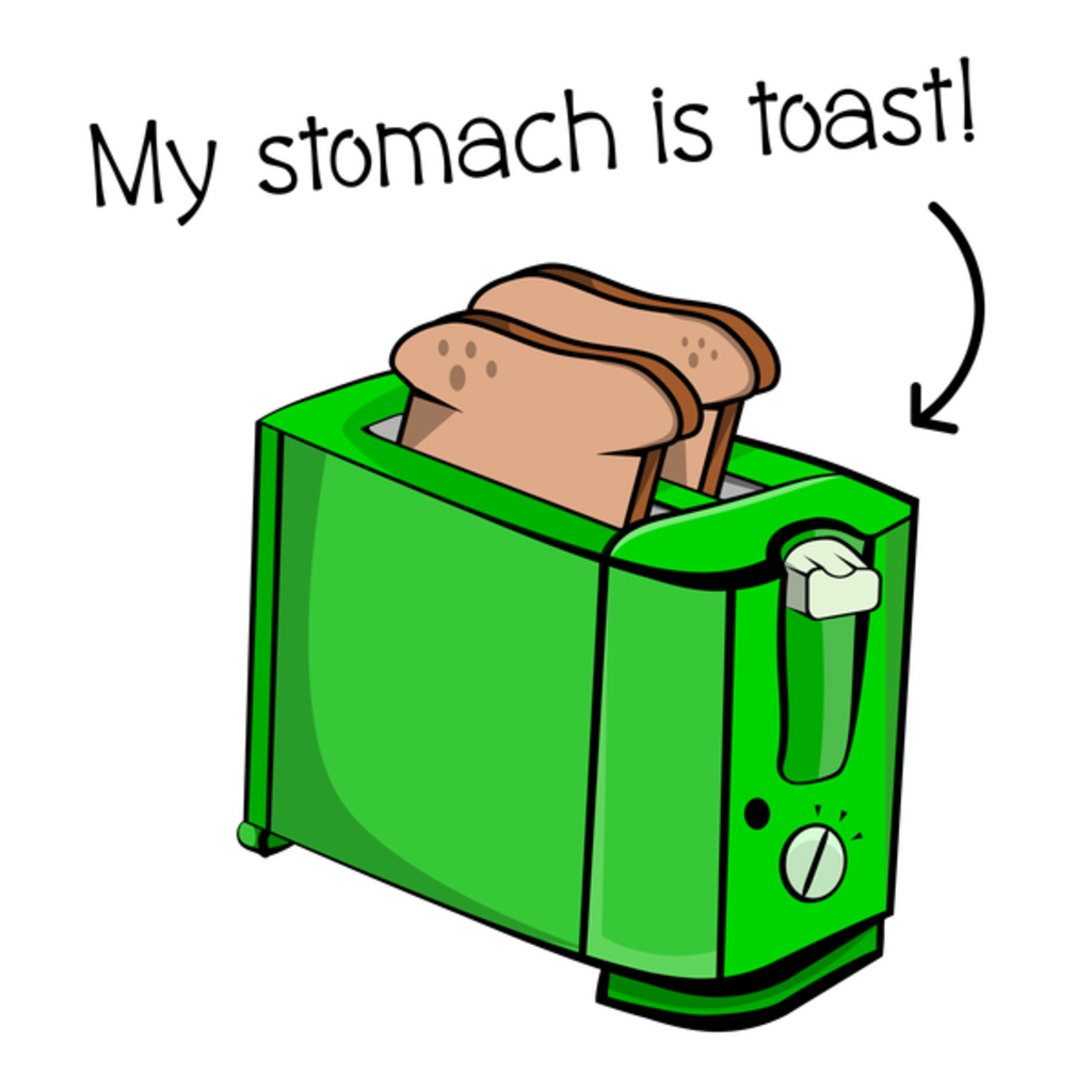 NeatoShop: My Stomach Is Toast