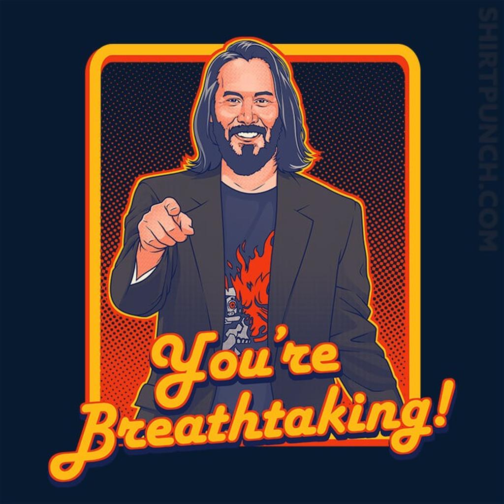 ShirtPunch: You're Breathtaking