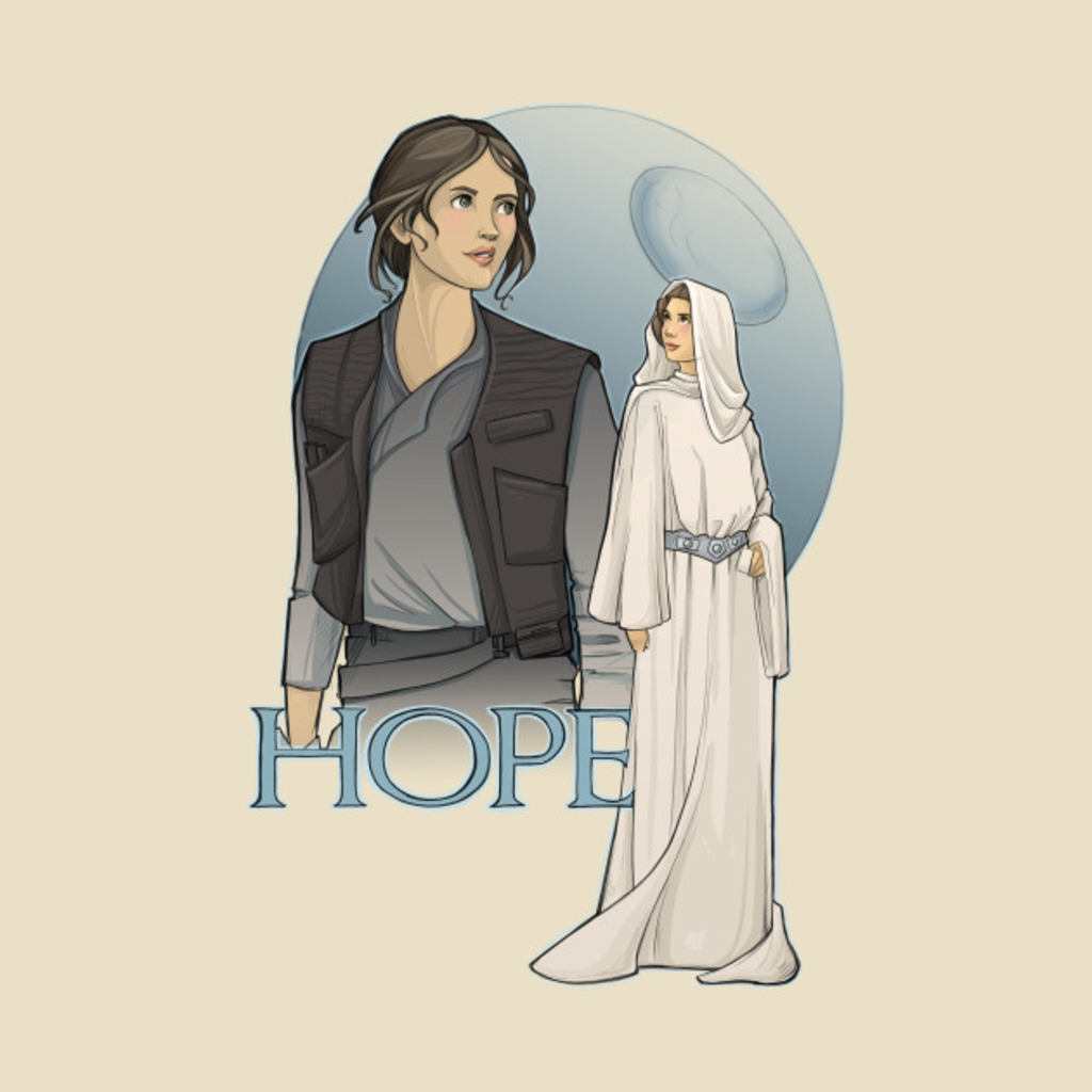 TeePublic: Hope T-Shirt