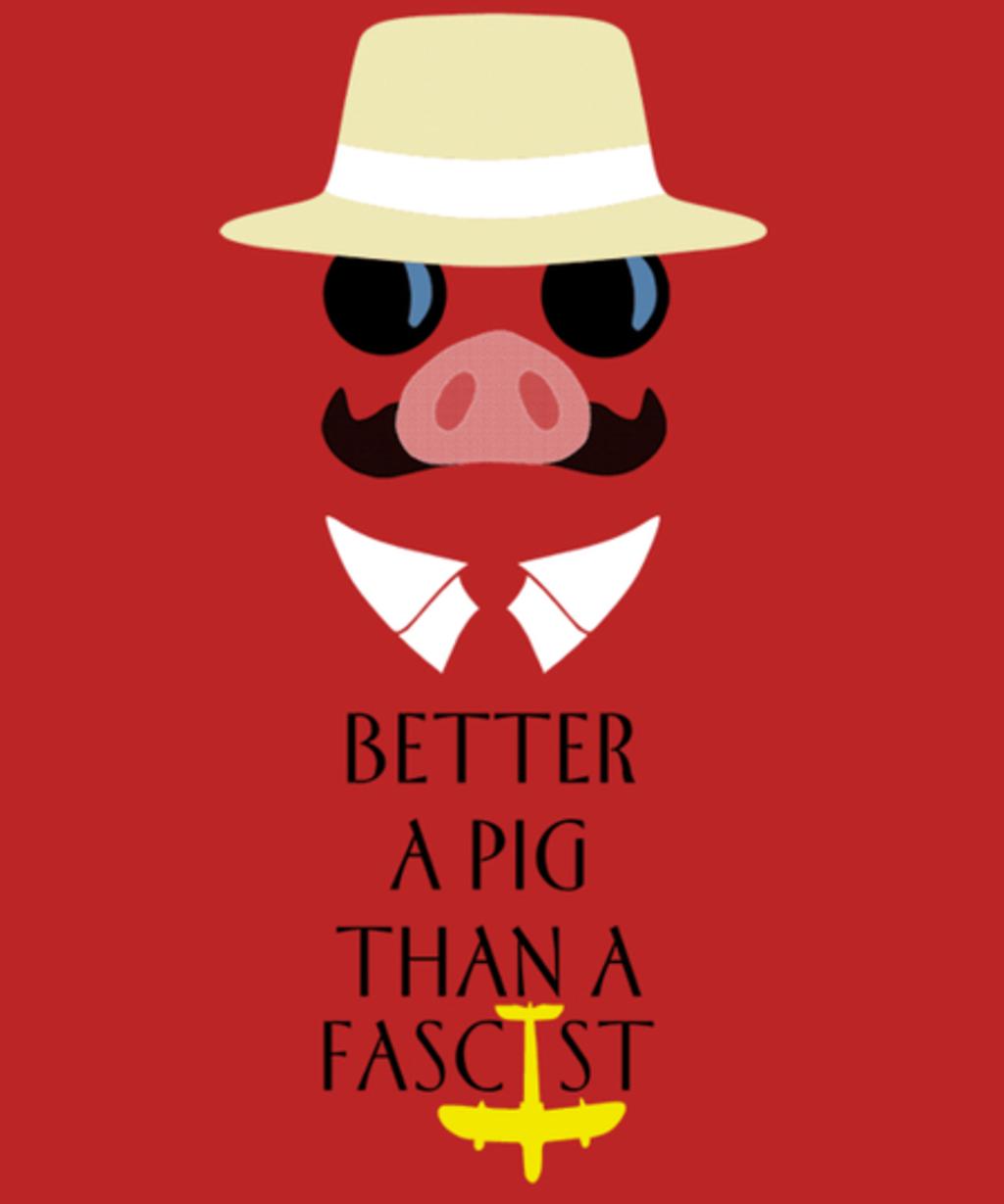 Qwertee: Porco's Wisdom