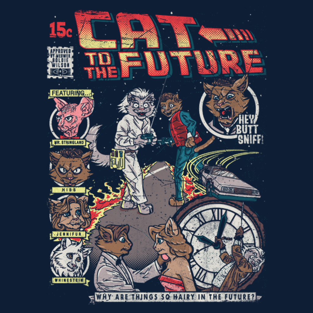 NeatoShop: Cat to the Future