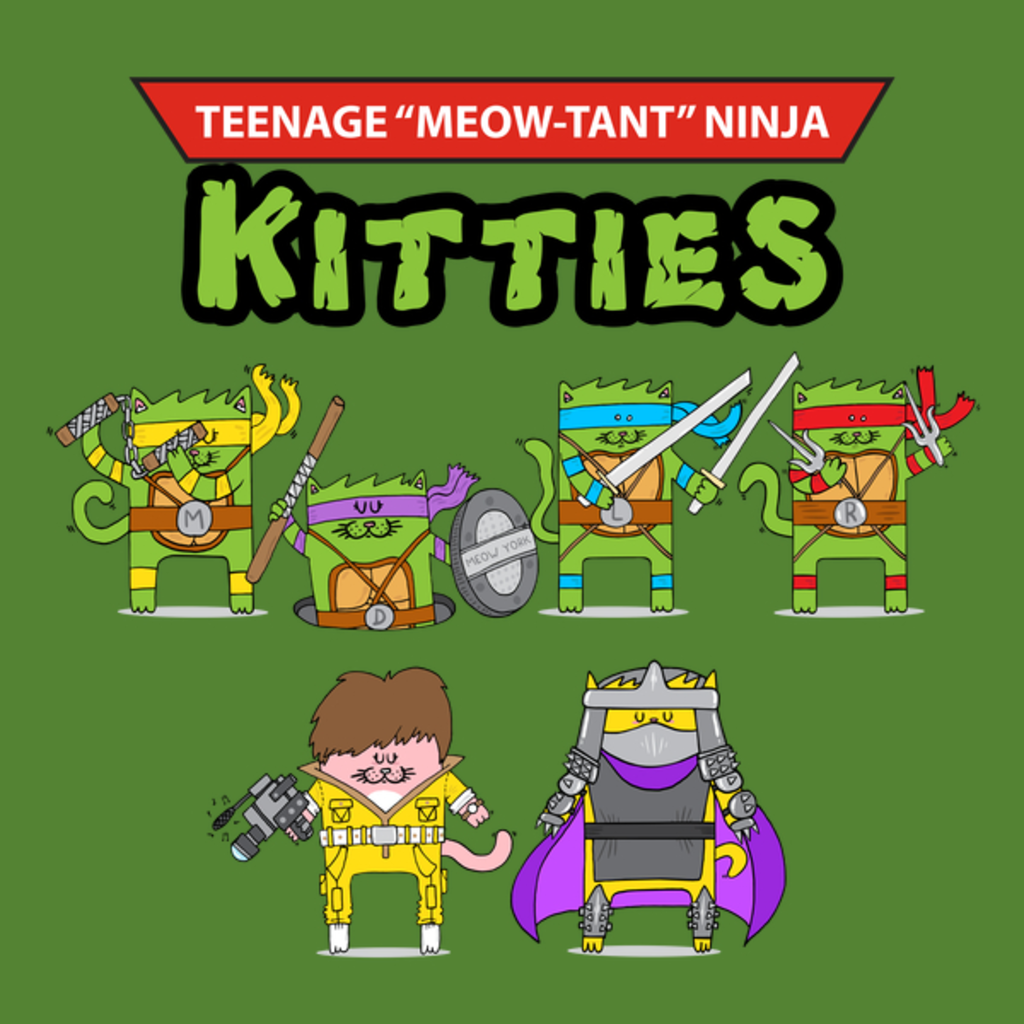 NeatoShop: Teenage Meow-tant Ninja Kitties