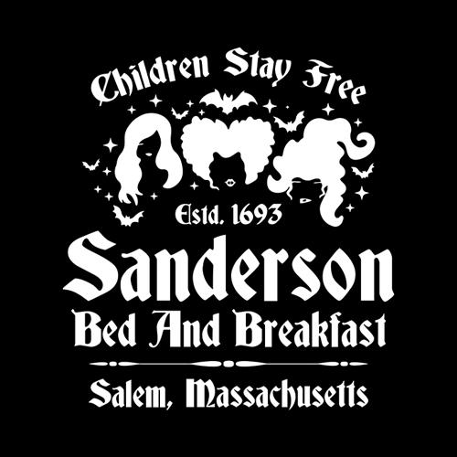 Five Finger Tees: Sanderson Bed And Breakfast T-Shirt