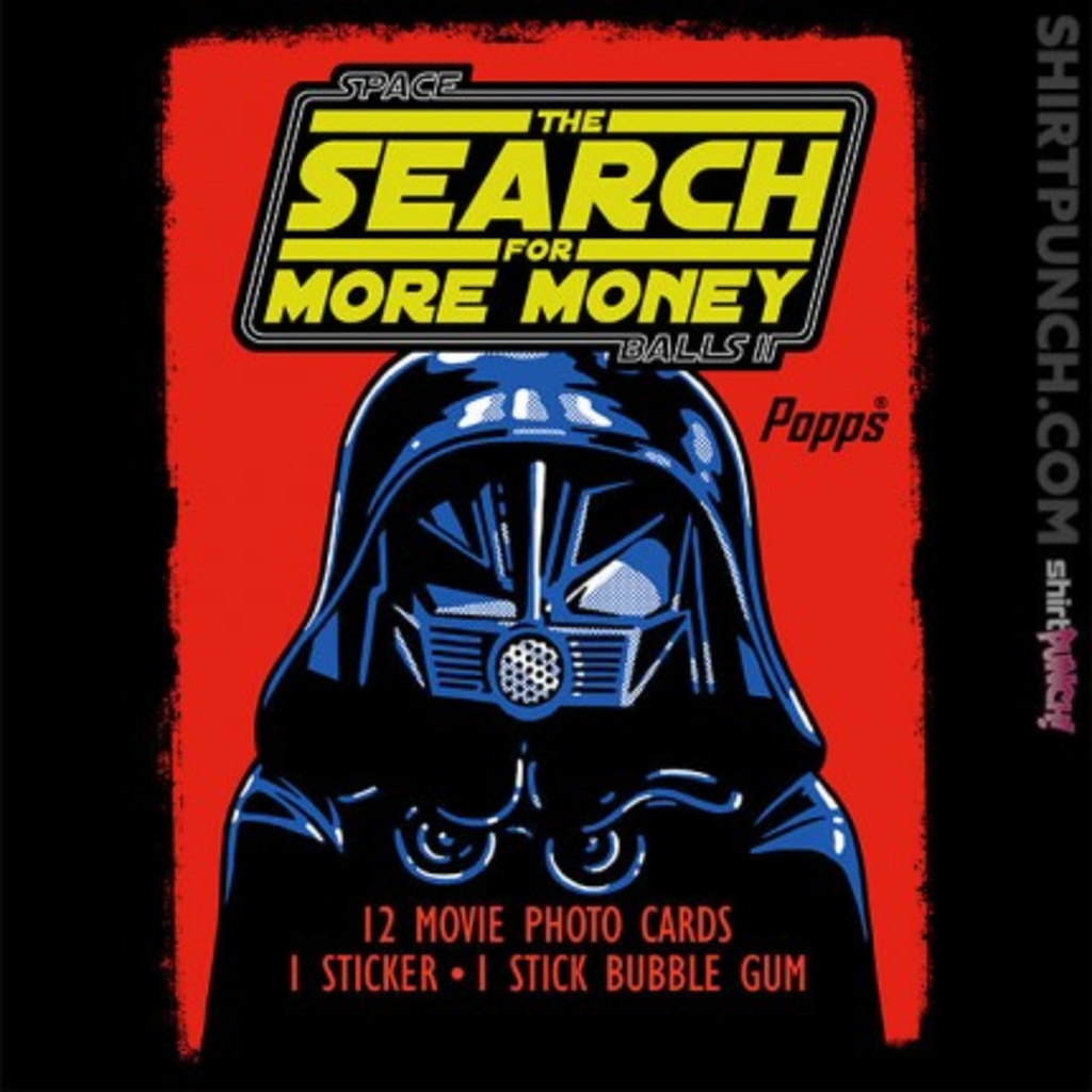 ShirtPunch: The Search For More Money