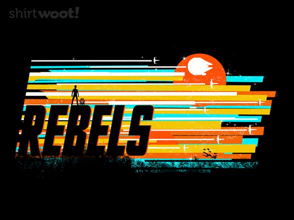 Woot!: Rebel Stripes