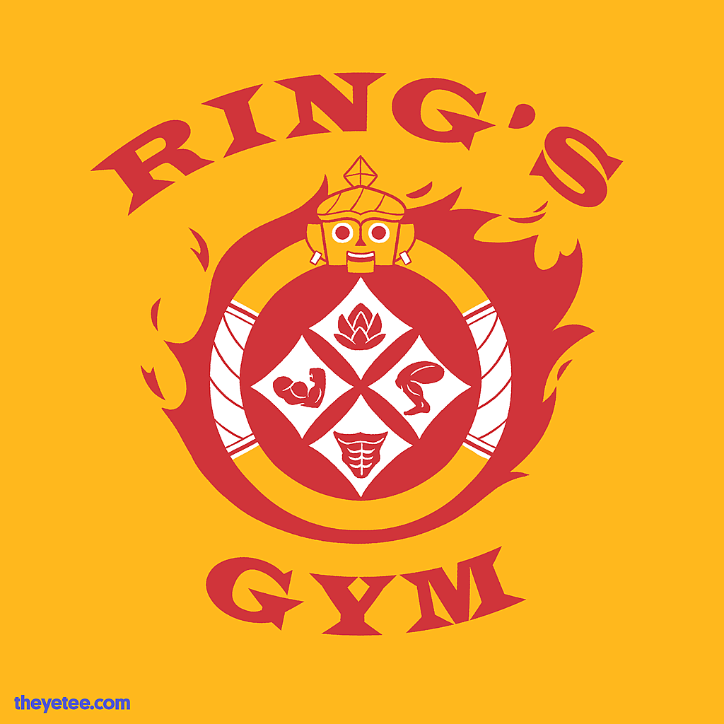 The Yetee: Ring's Gym