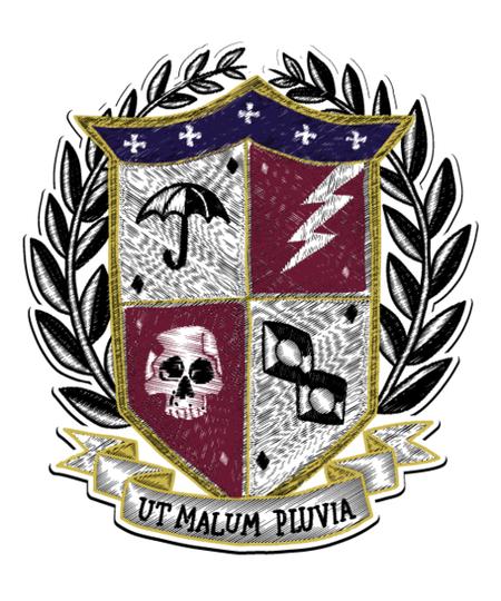 Qwertee: Family Crest