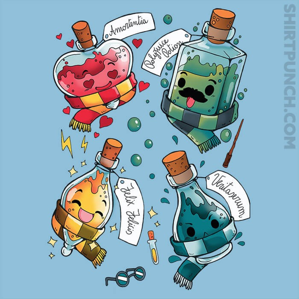 ShirtPunch: Wizard Potion