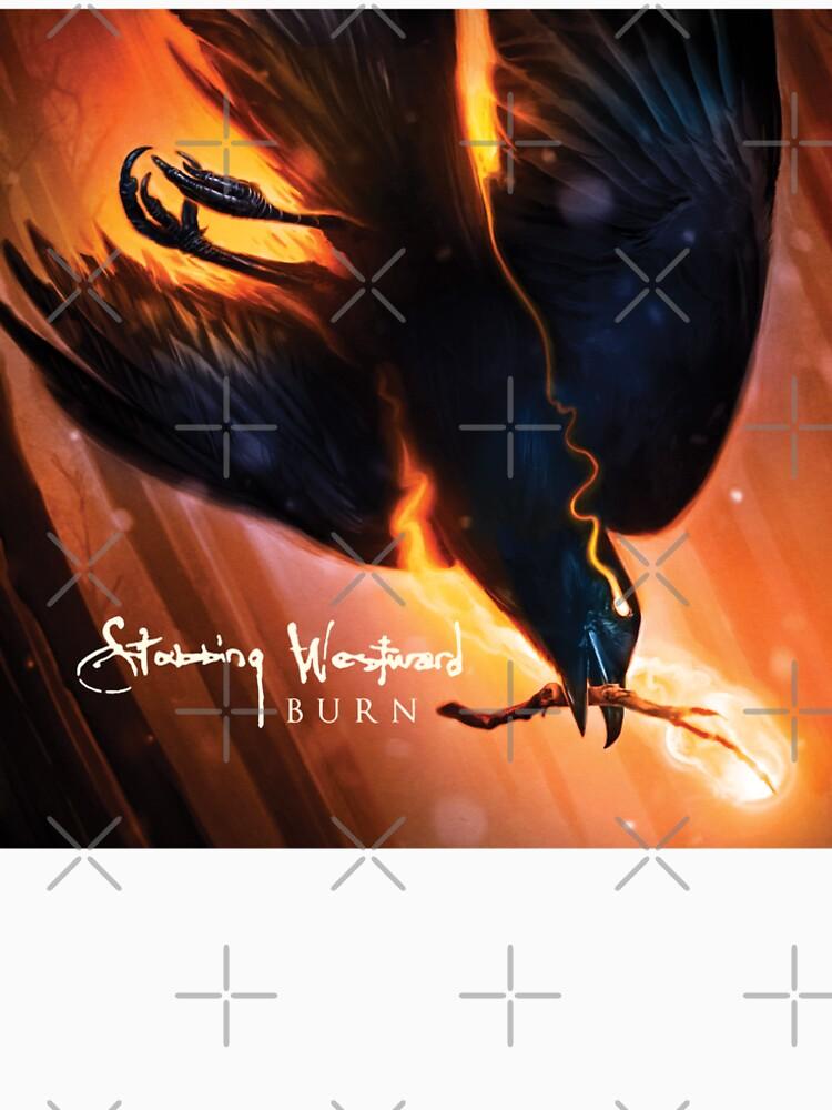 RedBubble: Stabbing Westward Burn Crow Artwork