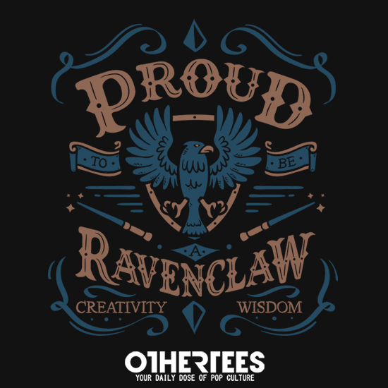 OtherTees: Proud to be Ravenclaw