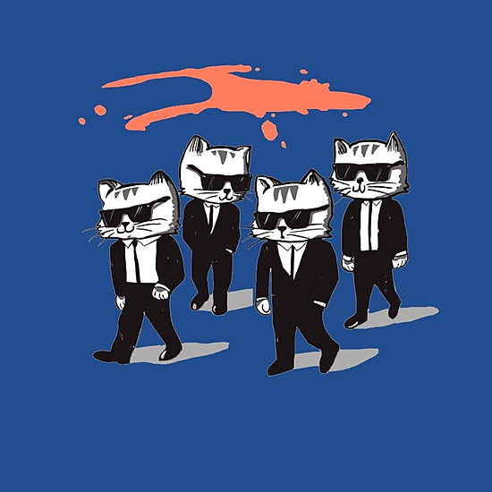 BustedTees: Reservoir Cats