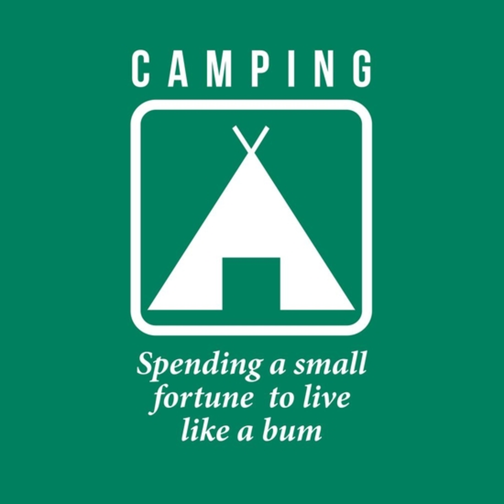 BustedTees: Camping