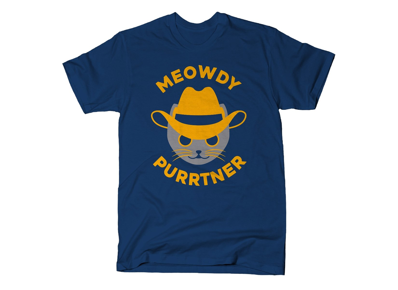 SnorgTees: Meowdy Purrtner