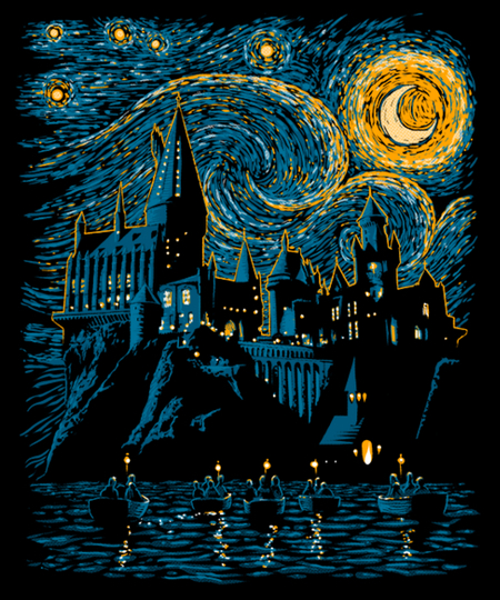 Qwertee: Starry School
