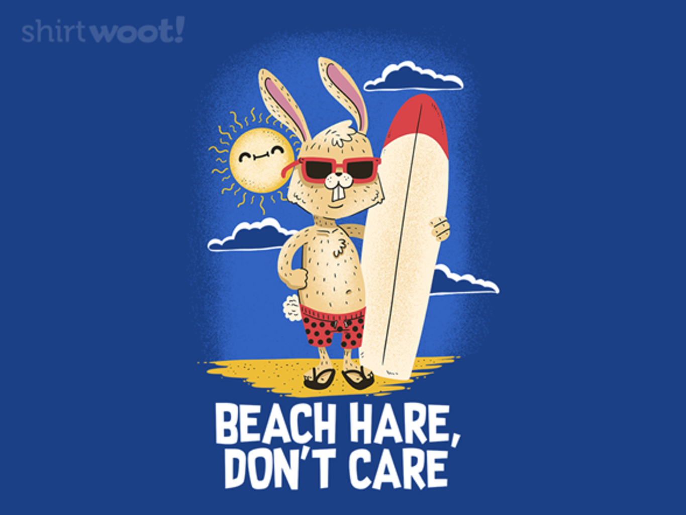 Woot!: Beach Hare, Don't Care - $15.00 + Free shipping