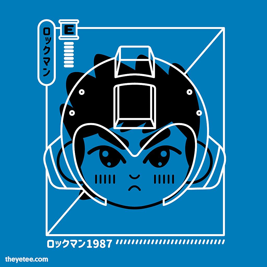 The Yetee: Cyber Helmet Rokkuman
