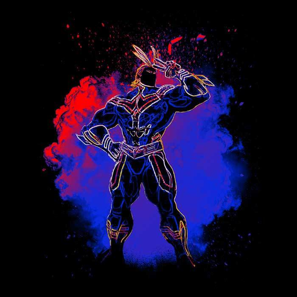 Once Upon a Tee: Soul of All Might
