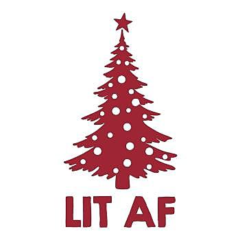 BustedTees: Lit AF