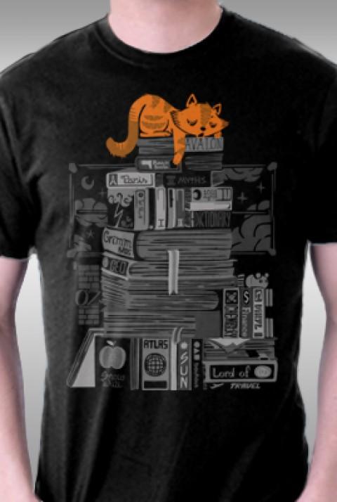 TeeFury: Hoard of Books