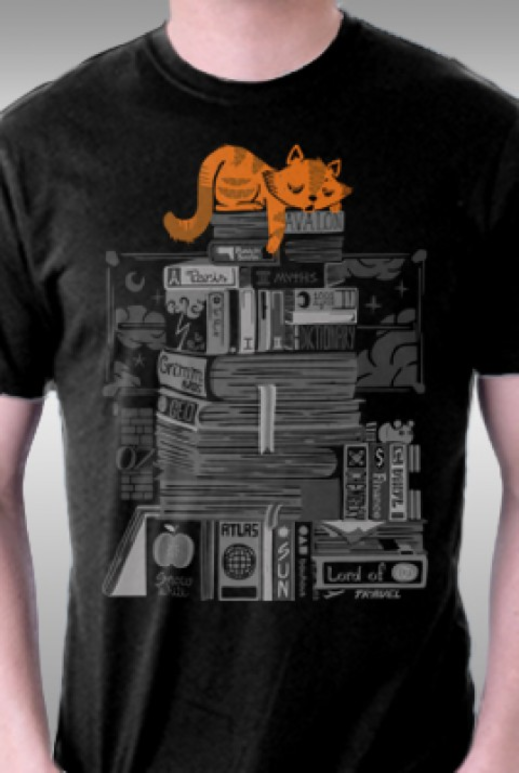 TeeFury: Hoard of Books