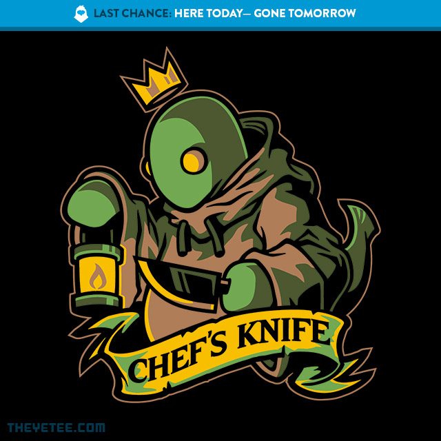 The Yetee: LAST CHANCE: Chef's Knife