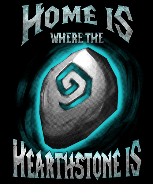 Qwertee: Home is where the Heartstone is