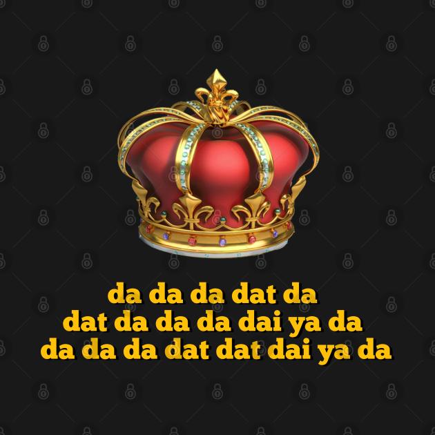 TeePublic: King George III Tee  Da Da Da Dat Da