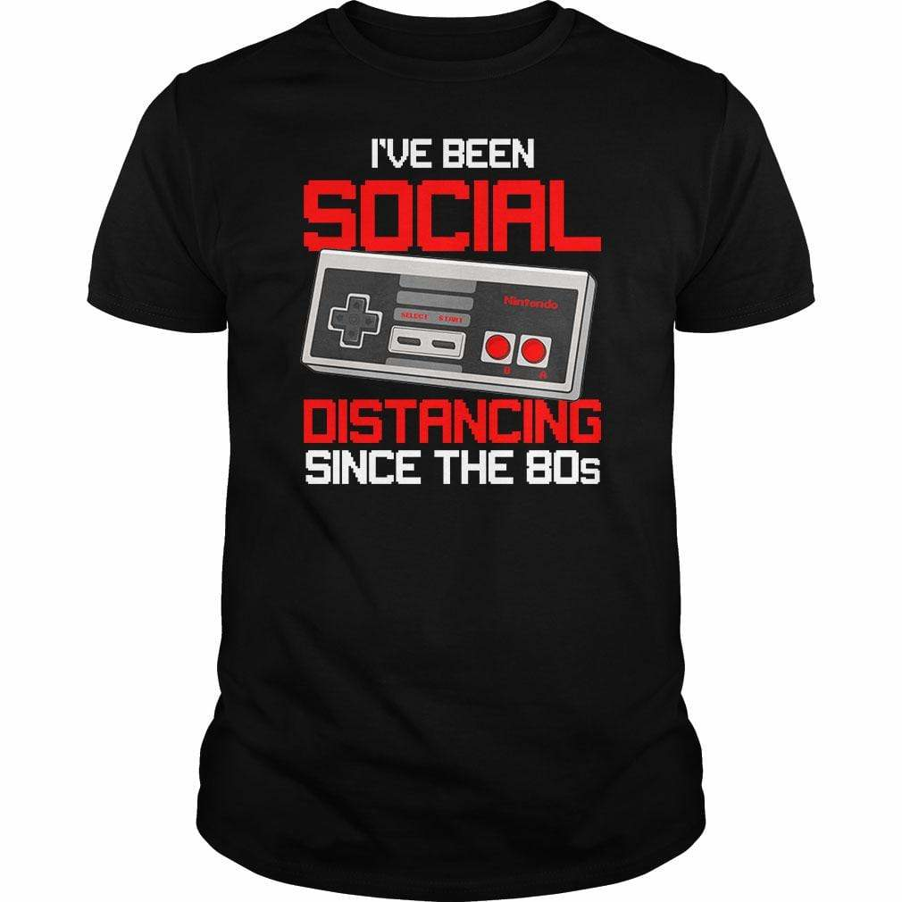 BustedTees: I've Been Social Distancing Since the 80s