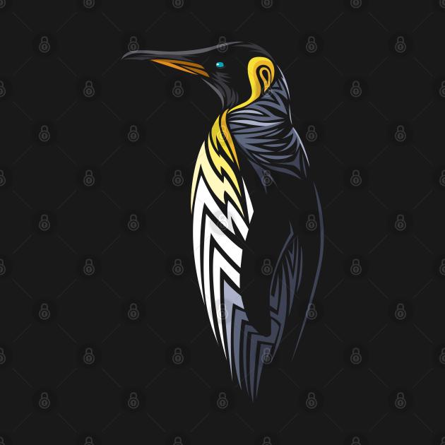 TeePublic: Tribal penguin