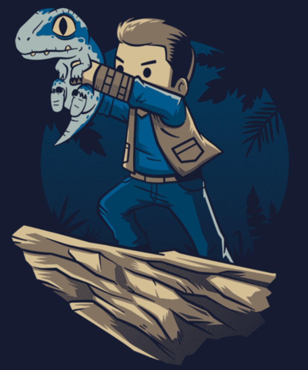 Qwertee: The Raptor King