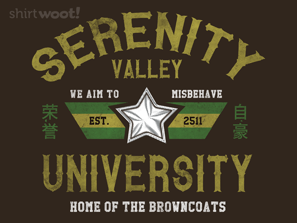 Woot!: Serenity Valley University