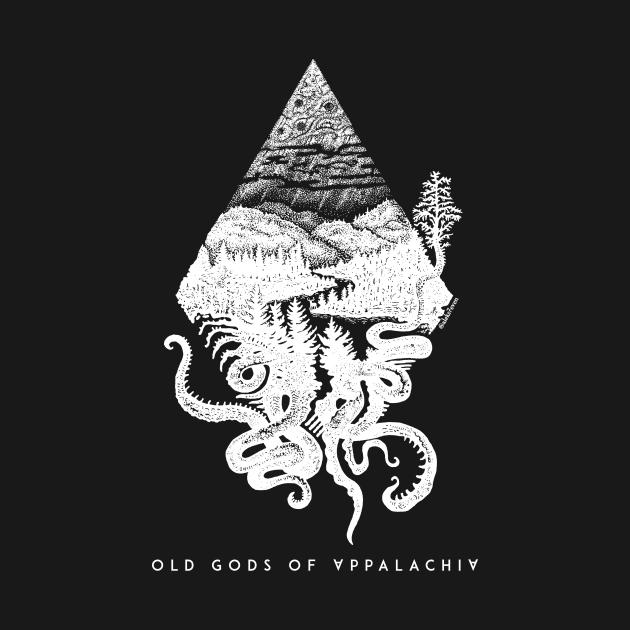 TeePublic: Old Gods of Appalachia: Fauna and Flora (by @aleks7even) – light print
