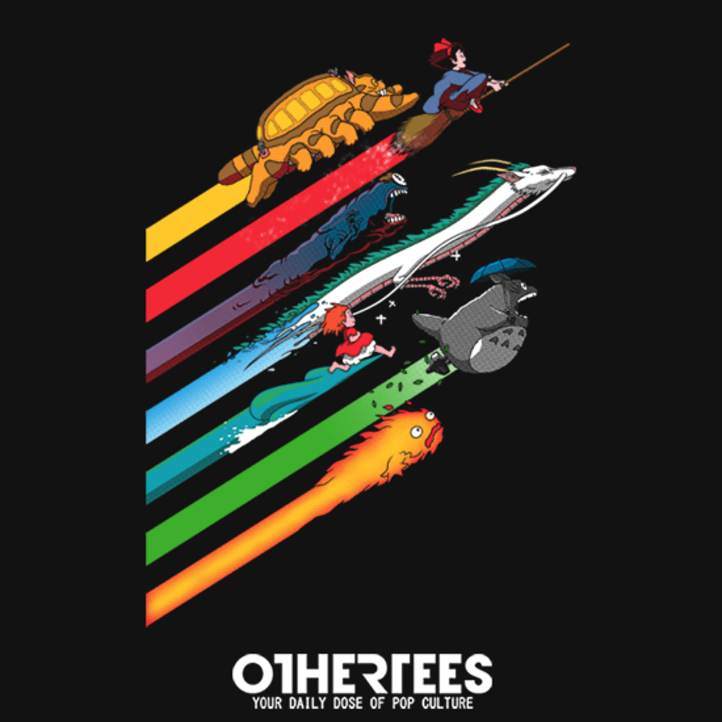 OtherTees: Spirited Streaks