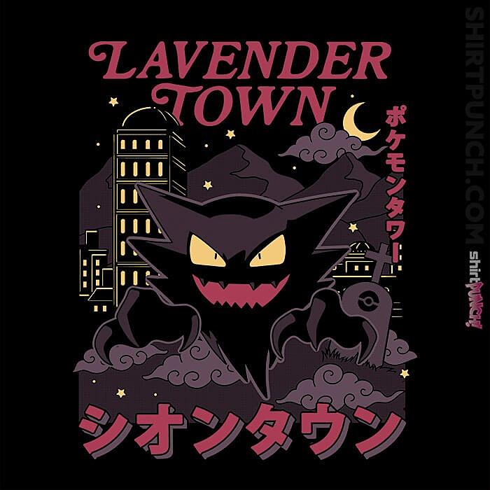 ShirtPunch: Lavender Curse