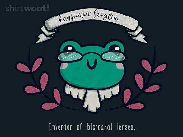 Woot!: Benjamin Froglin