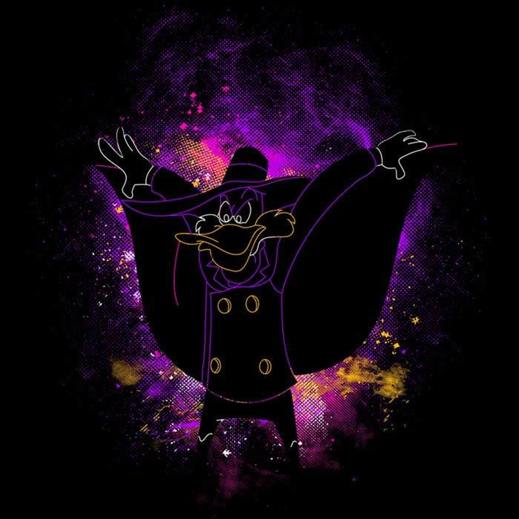 Once Upon a Tee: Darkwing Art