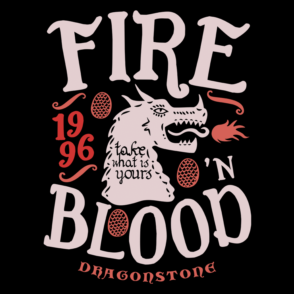 Pop-Up Tee: House of Dragons