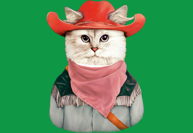 Design by Humans: Rodeo Cat