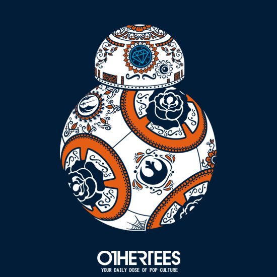 OtherTees: Calavera droid