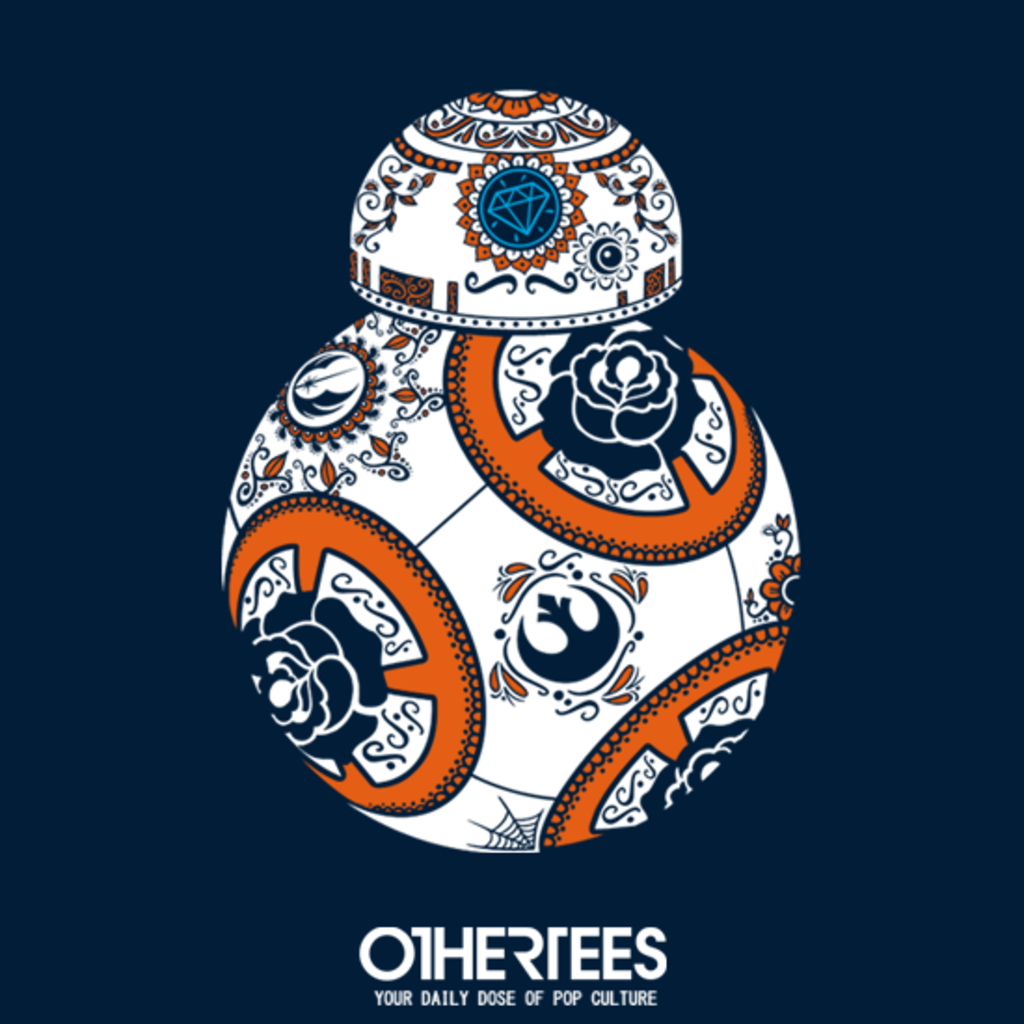 OtherTees: Calavera droid